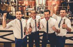 Friends in pub Stock Photography