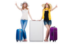 Friends ready for summer Royalty Free Stock Photo
