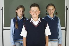 Friends from school royalty free stock images