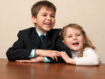 Friends from the school years Royalty Free Stock Images