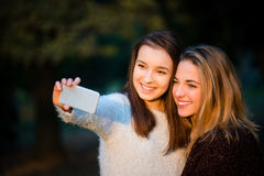 Friends selfie Royalty Free Stock Photos