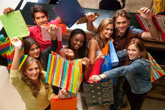 Friends shopping Royalty Free Stock Photography