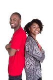 2 friends or siblings Stock Image