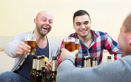 Friends spending day off together Stock Photo