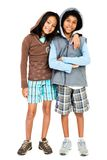 Friends standing together Stock Photos