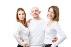 Friends standing together Stock Images