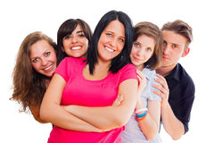Friends Stick Together Royalty Free Stock Images