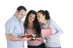 friends studing tohether Stock Photo