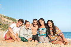 Friends in Summer Stock Photography