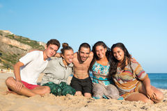 Friends in Summer Stock Image