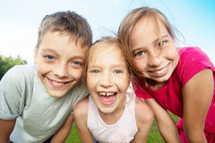 Friends at summer royalty free stock images