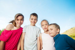 Friends at summer Royalty Free Stock Photos