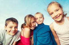 Friends at summer Royalty Free Stock Photo