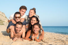 Friends in Summer time Stock Photo