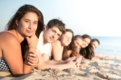 Friends in Summer time Stock Photography