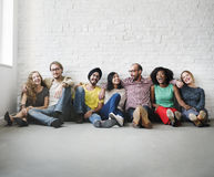 Friends Support Team Unity Friendship Concept.  Stock Images