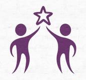 Friends symbol Stock Photos