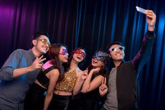 Party selfie Royalty Free Stock Image