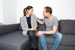 Friends talking Royalty Free Stock Images