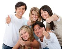 Friends - Thumbs up Royalty Free Stock Photos