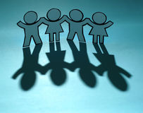Friends together Royalty Free Stock Photo