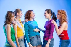 Friends together Royalty Free Stock Images