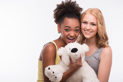 Friends are always together Royalty Free Stock Photo