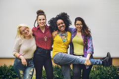 Friends Togetherness Friendship Happy Enjoy Concept Royalty Free Stock Image