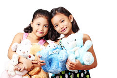 Friends And Toys Stock Images