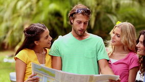 Friends traveling Royalty Free Stock Photos