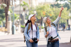 Friends vacation sightseeing Royalty Free Stock Photos