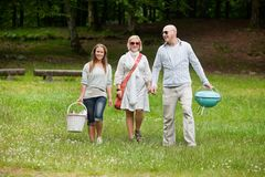 Friends On a Weekend Outing Royalty Free Stock Image