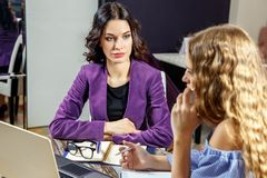 Friends Working Discussion Meeting Sharing Ideas Concept royalty free stock photos