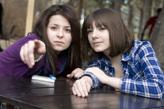 Friendship. Royalty Free Stock Photography