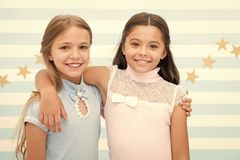 Free Friendship And Best Friends. Little Girls Are Best Friends. Friendship Of Little Girls. Bright Moment Together. Royalty Free Stock Photo - 150273035