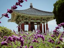 Friendship bell in San Pedro CA royalty free stock images