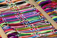 Friendship Bracelets Royalty Free Stock Photography