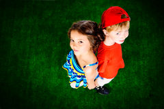 Friendship of children Stock Photography
