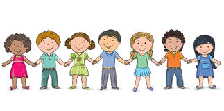 Friendship. Contains transparent objects. EPS10 royalty free illustration