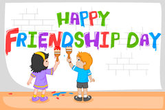 Friendship Day background Royalty Free Stock Photos