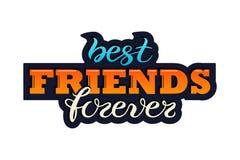 Friendship Day greeting card stock illustration