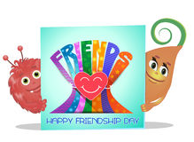 Friendship Day greeting card Royalty Free Stock Photos