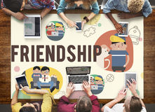 Friendship Friends Relationship Hobby Concept Royalty Free Stock Photos