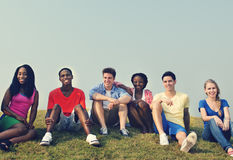 Friendship Gathering Casual Allies Group Concept Royalty Free Stock Photo