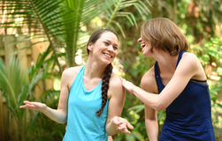 Friendship and happiness Stock Images