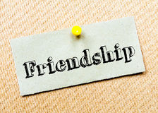 Friendship Message Royalty Free Stock Image