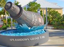 Friendship 7 NASA Space capsule. On Grand Turk Royalty Free Stock Image