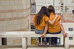 Friendship Nazareth Stock Photo