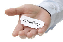 Friendship - Note Series Stock Image
