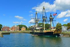Friendship Of Salem, Salem, Massachusetts Royalty Free Stock Photo